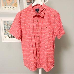 American Eagle Tribal Short Sleeve Shirt